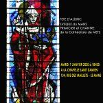 Célébration de St Aldric Evêque du Mans , Pré-Chantre de Metz @ Chapelle St Damien