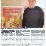 Article Maine Libre Philippe Lenoble