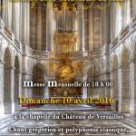 Messe Versailles