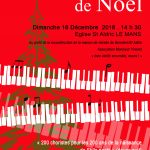 Grand concert de Noël : STILLE NACHT 1818-2018 à l'église St Aldric avec 6 autres chorales @ Eglise St Aldric, Le Mans | Le Mans | Pays de la Loire | France